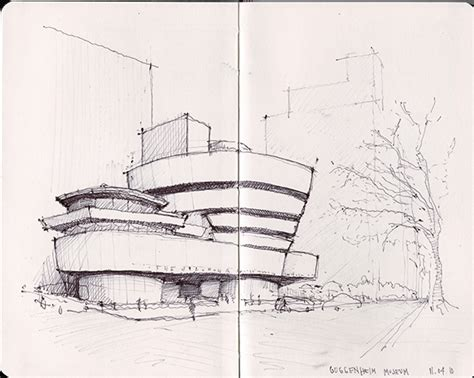 B Arch Sketches by Ny Chicago Architecture Sketches On Behance