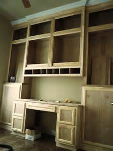 Built In Bookshelves With Desk Custom Made Built In Desk Bookcases By Custom Cabinets