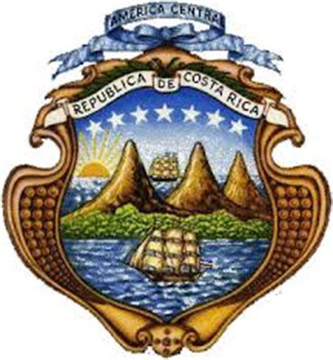 imagenes simbolos y emblemas nacionales de costa rica escudo de costa rica ecured