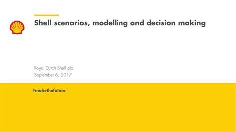 Shell Scenarios Shell Global Royal Dutch Shell | royal dutch shell plc rds a investor presentation