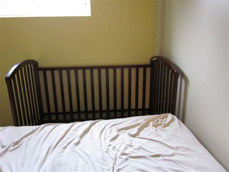 Co Sleeping Sidecar Crib by Confessions Of A Co Sleeper How To Sidecar Your Crib
