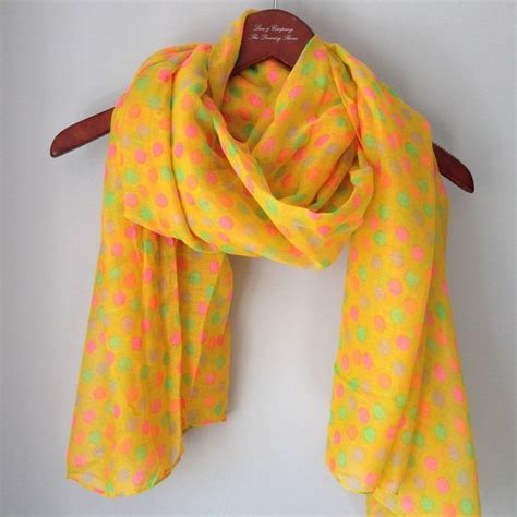 spotty scarf by and company decorative living