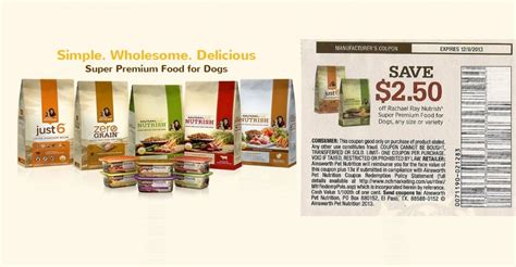 printable rachael ray dog food coupons rachael ray nutrish coupon causes confusion coupons in