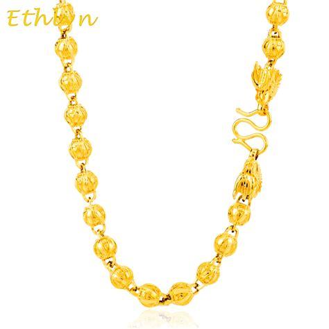 cadenas de oro al por mayor compra 24 k cadena de oro online al por mayor de china