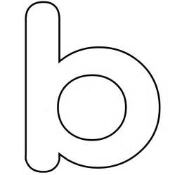 Letter B Template by Letter B Coloring Pages Preschool And Kindergarten