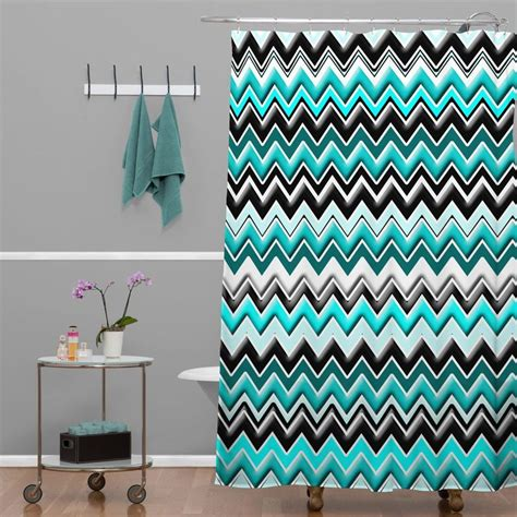 gray and turquoise curtains showers glamorous turquoise and gray shower curtain coral