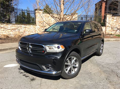 2016 Dodge Durango V8 by 2016 Dodge Durango Rwd Rental Review
