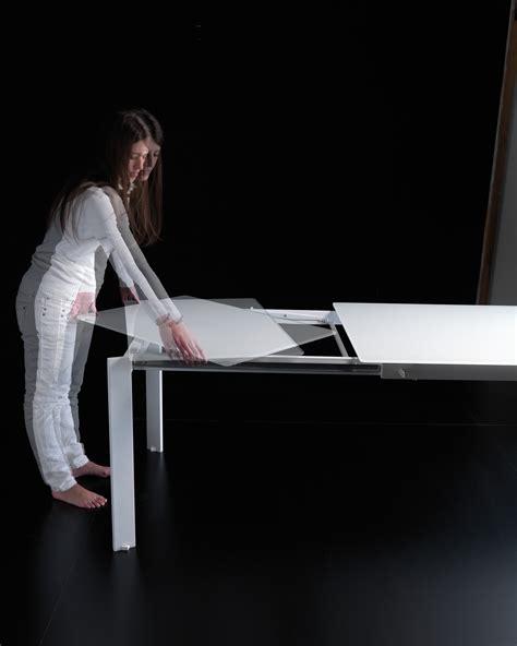 tavolo niko bontempi tavolo allungabile in acciaio e legno unicolor o vetro