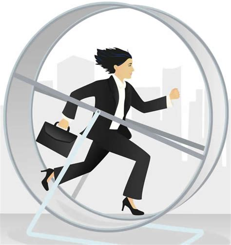 hamster wheel i m fed up and disillusioned