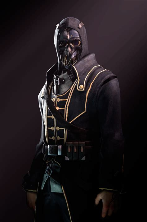 image corvo attano mask render jpg dishonored wiki