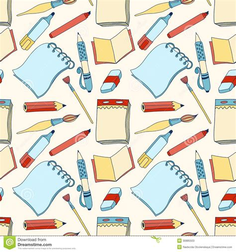 color pattern tool notes seamless color pattern stock photos image 30885503