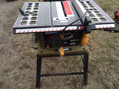 Rockwell Shop Series Table Saw by K C Auctions Big Lake Contractor Surplus And Household