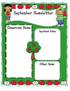 Monthly Preschool Newsletter Template by 1000 Ideas About Preschool Newsletter Templates On