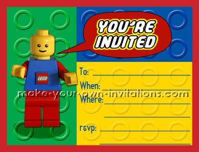 Lego Birthday Invitations On Pinterest Lego Invitations Lego Party Invitations And Lego Lego Birthday Invitation Template