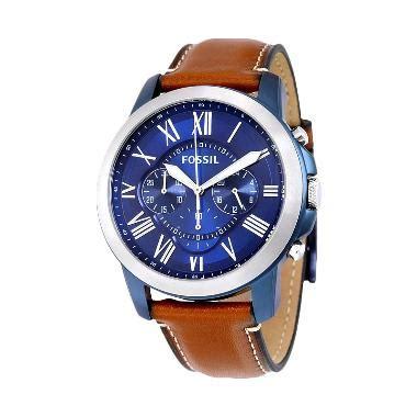 Do Fossil Fs5151 Grant Chronograph Jam Tangan Pria Original Authentic jual fossil grant chronograph fs5151 jam tangan pria