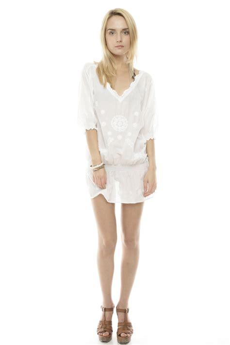 Miomi Tunic pilyq white cotton tunic from miami by neptunes shoptiques