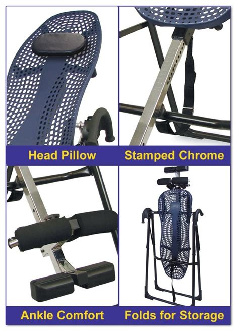 teeter hang ups ep 550 sport inversion therapy table health care canadian home healthcare products mall