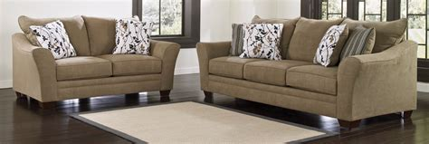 ashley furniture living room buy ashley furniture 9670138 9670135 set mykla shitake living room set bringithomefurniture com