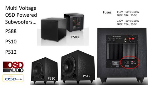 best small subwoofer ps88 home theater subwoofer dual woofer compact design