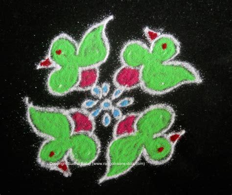 dot pattern rangoli small rangoli with dots kolam by sudha balaji