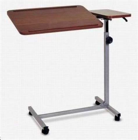 hospital bed accessories overbed table tilt top bt656 hospital bed accessories