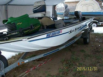 aluminum fishing boats michigan sea nymph boats for sale in michigan