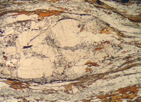 sillimanite thin section andalusite