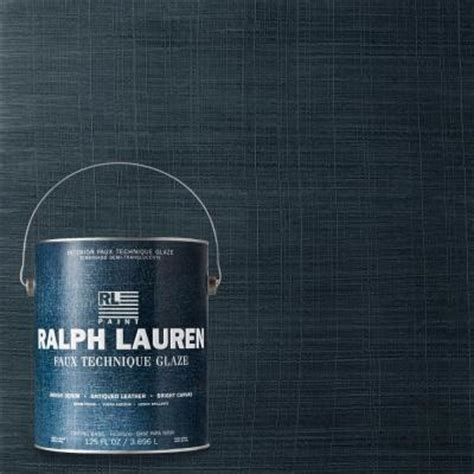 ralph 1 gal blue print indigo denim specialty finish interior paint id06 the home depot