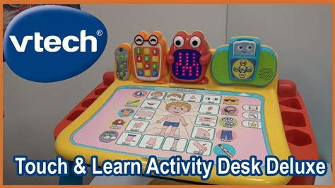 vtech touch and learn activity desk deluxe pink vtech touch and learn activity desk deluxe and