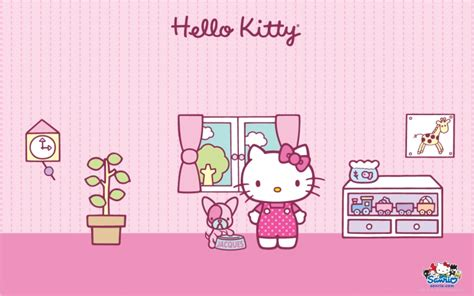wallpaper hello kitty warna pink kitty wallpaper 2015 wallpapersafari