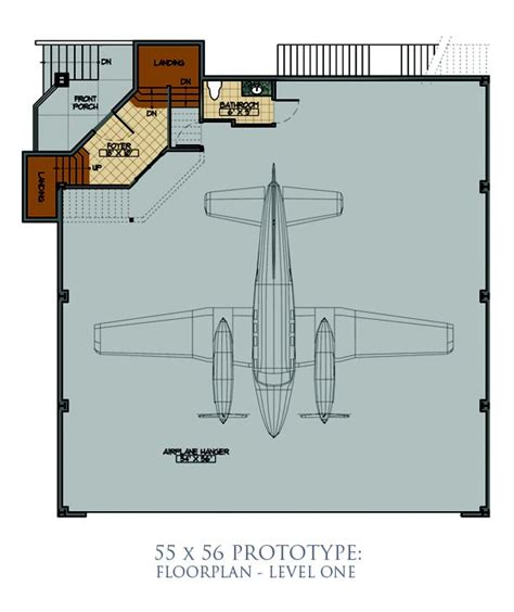 hangar building plans images
