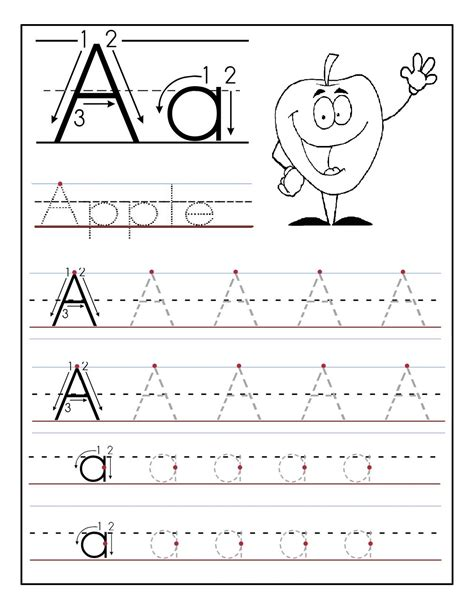 Letter A Worksheets   formal letter template