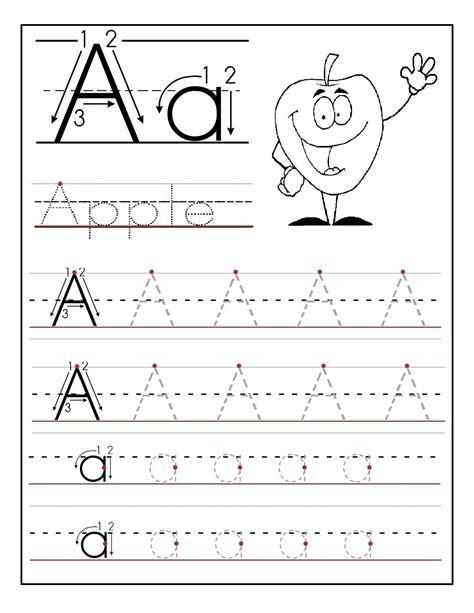 Letter A Worksheets   formal letter template