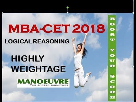 How To Prepare For Cet Mba by Mba Cet 2018 How To Prepare For Logical Reasoning