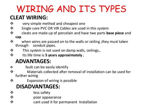awesome different types of wiring systems ideas