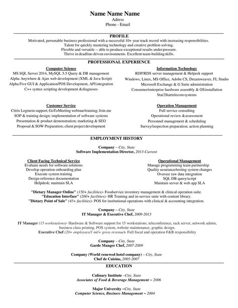 Resume Sles Format Doc Doc 570606 Resume Template And 28 Images Resume Doc Best Resume Gallery Curriculum Vitae