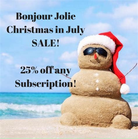 Joile In July 07 by Bonjour In July Deal 25 Any