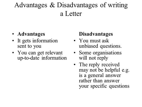 Letter Of Credit Information Types Advantages And Limitations Investigating For S Grade Ppt