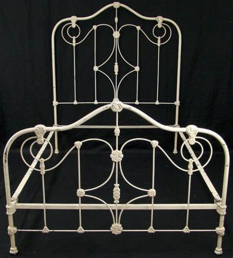 Iron And Footboards by Antique Cast Iron Bed Bedroom Furniture Headboard