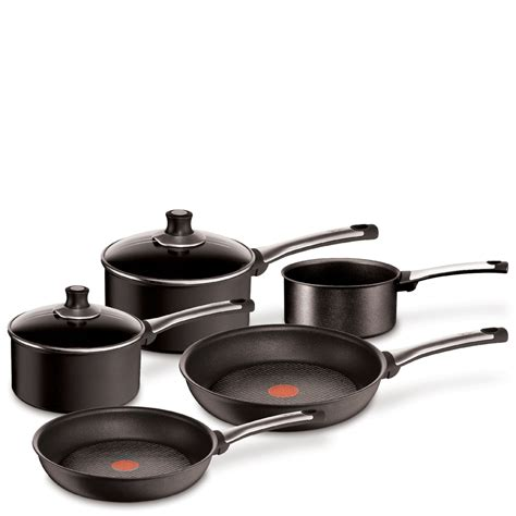 hell s kitchen induction pans ean 3168430160309 tefal t fal e4409142 induction compatible preference pro 5 pan set