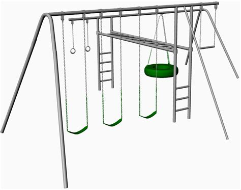 metal swing sets with monkey bars hercules metal swing set with monkey bars dyi for your