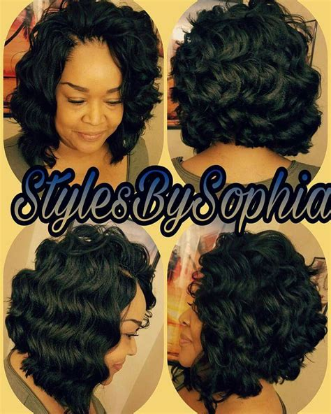 crochet braids bob hairstyle crochet braids bob hair is ocean wave by kima this is so