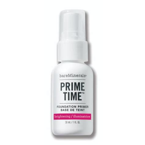 Coming Soon Prime Time Primer From Bare Escentuals by Bareminerals Prime Time 174 Brightening Foundation Primer