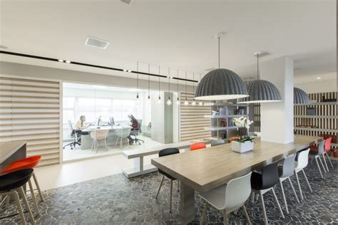 Scandinavian Office Interior Design by Embassy By D Z Architects Projectmanagers The