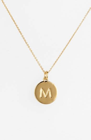 kate spade new york one in a million initial pendant