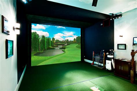 room design simulator custom indoor golf rooms phoenix by indoor golf design