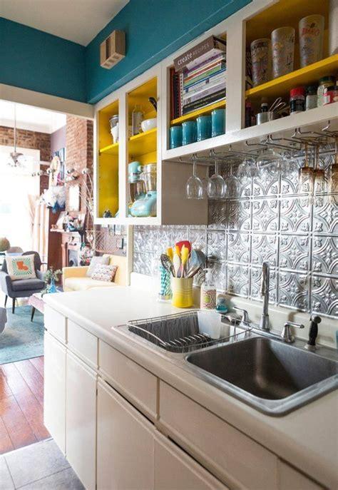 funky kitchens ideas 25 best ideas about removable backsplash on pinterest