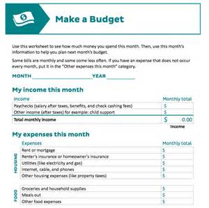 Making A Budget Spreadsheet 9 Useful Budget Worksheets That Are 100 Free