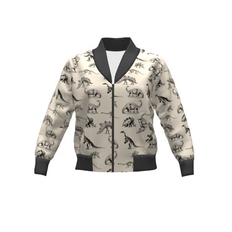 Bomber Basic Raptor Xl Project rigel bomber dino bomber jacket sprout patterns