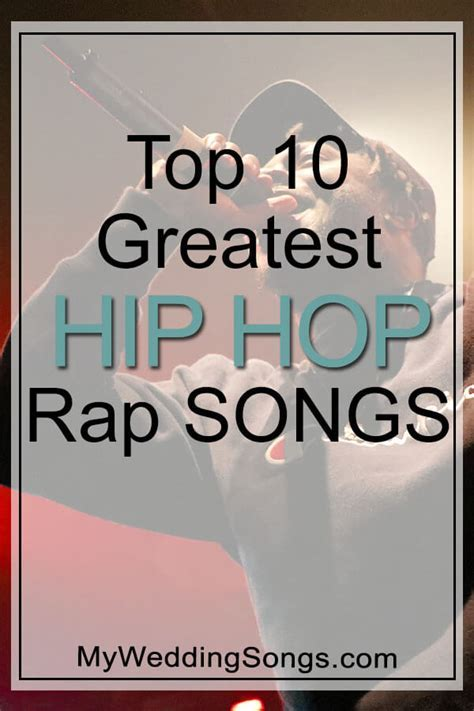 Greatest Hip Hop Songs of All Time   Top 10 List   My